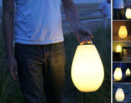创意台灯给平淡生活加料筒夹